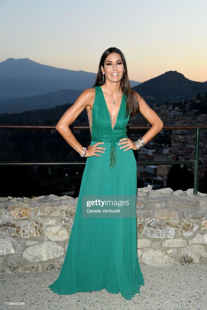 65th Taormina Film Fest Day 3 - Cocktail : News Photo