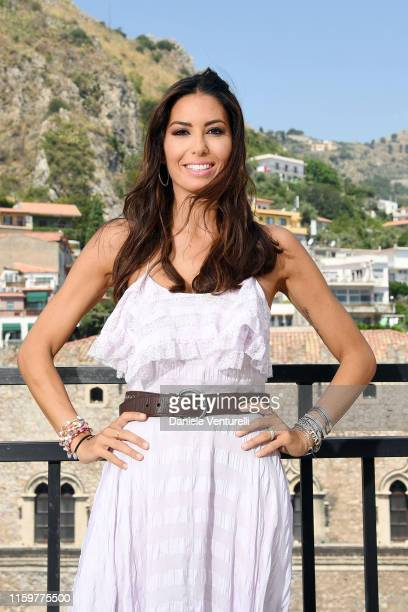 Elisabetta Gregoraci attends the 65th Taormina Film Fest photocall at on July 03 2019 in Taormina Italy