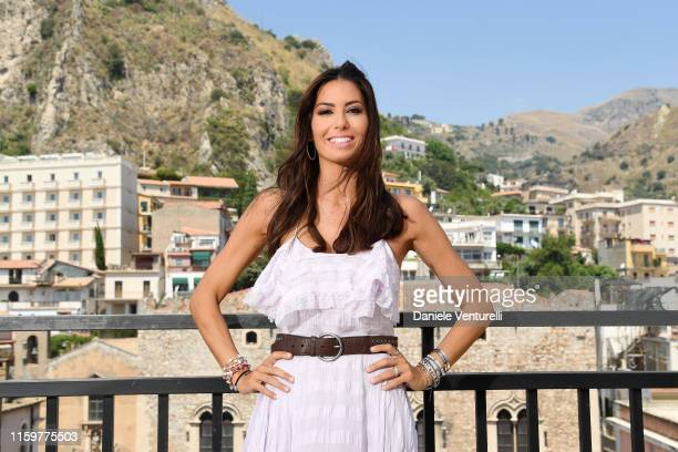Elisabetta Gregoraci attends the 65th Taormina Film Fest photocall at on July 03, 2019 in Taormina, Italy.