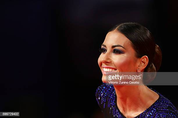 Elisabetta Gregoraci attends the premiere of 'Tommaso' during the 73rd Venice Film Festival at Sala Grande on September 6, 2016 in Venice, Italy.