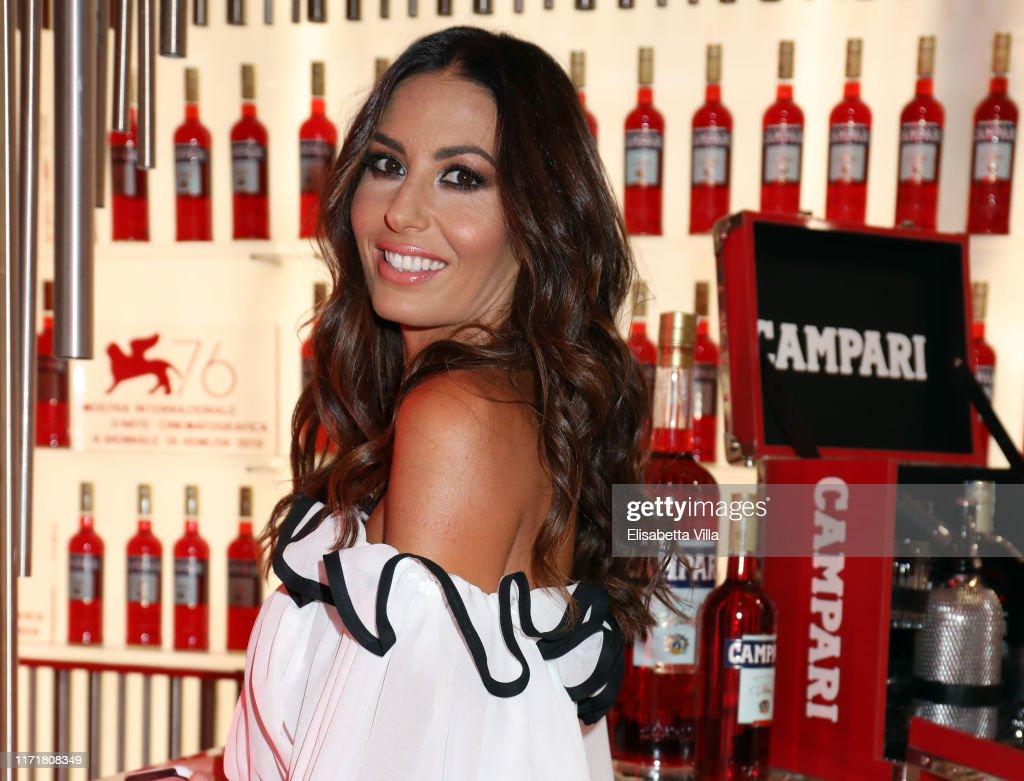 Campari at 76 Venice Film Festival – Paolo Bonolis presenting the short movie 'Il dono' at Campari Lounge : News Photo