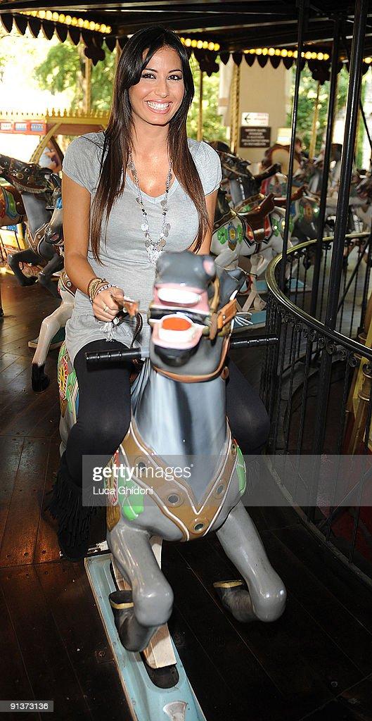 Elisabetta Gregoraci Hosts Gardaland Magic Halloween