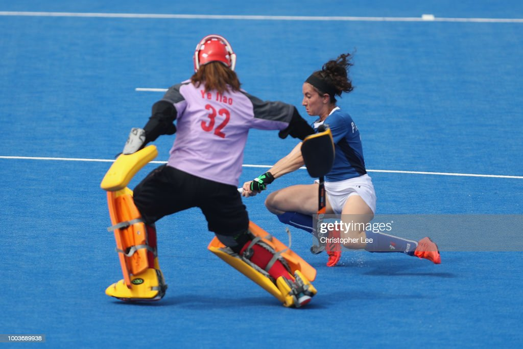 China v Italy - FIH Womens Hockey World Cup