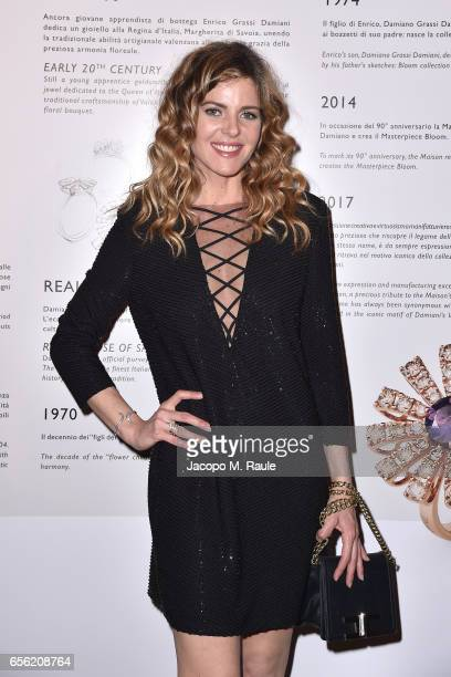 Elisabetta Pellini attends a dinner for 'Damiani Un Secolo Di Eccellenza' at Palazzo Reale on March 21 2017 in Milan Italy