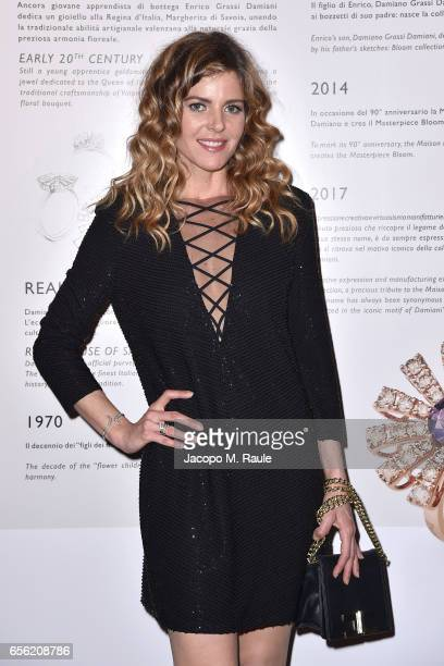 Elisabetta Pellini attends a dinner for 'Damiani Un Secolo Di Eccellenza' at Palazzo Reale on March 21 2017 in Milan Italy