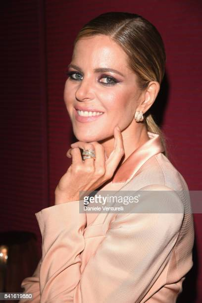 Elisabetta Pellini attends Diva e Donna Party at Sina Centurion Palace during the 74th Venice Film Festival on September 1 2017 in Venice Italy