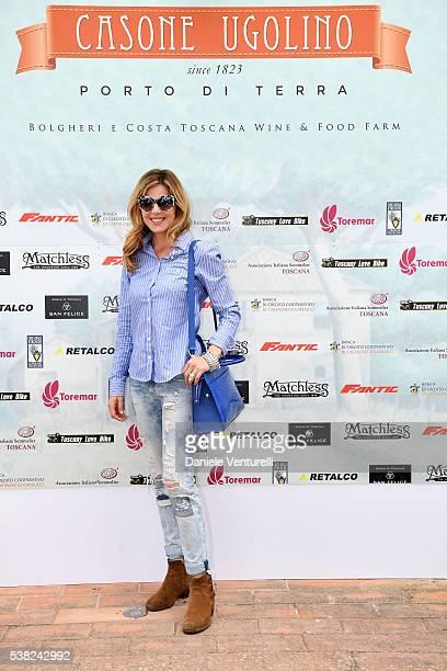 Elisabetta Pellini attends Matchless E Bike Presentation on June 5 2016 at Casone Ugolino in Castagneto Carducci near Livorno Italy