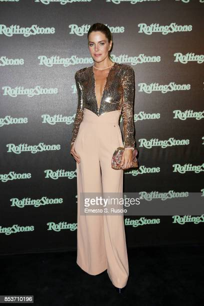 Elisabetta Pellini attends Rolling Stone Party during Milan Fashion Week Spring/Summer 2018 at on September 24 2017 in Milan Italy