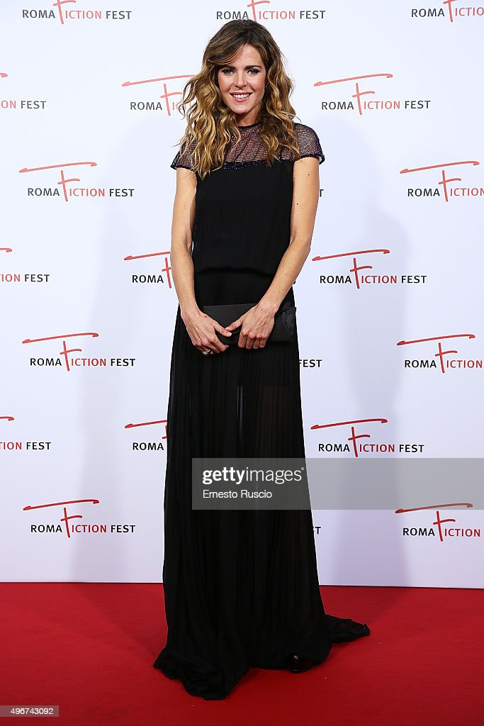 Elisabetta Pellini attends the 'Lea' red carpet during the RomaFictionFest 2015 at Auditorium Conciliazione on November 11, 2015 in Rome, Italy.