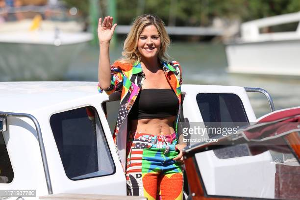 Elisabetta Pellini is seen arriving at the 76th Venice Film Festival on September 03 2019 in Venice Italy