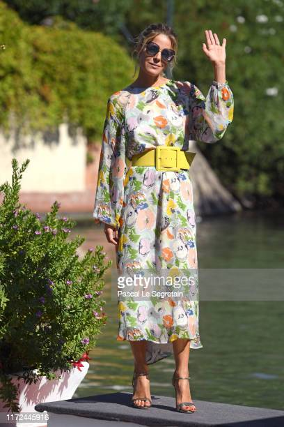 Elisabetta Pellini is seen arriving at the 76th Venice Film Festival on September 05 2019 in Venice Italy