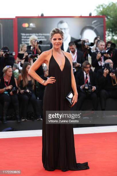 Elisabetta Pellini walks the red carpet ahead of the Lan Xin Da Ju Yuan screening during the 76th Venice Film Festival at Sala Grande on September 04...