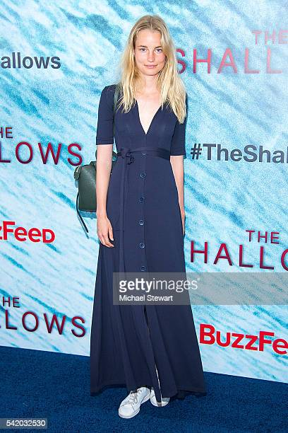Elise Aarnink attend 'The Shallows' world premiere at AMC Loews Lincoln Square 13 theater on June 21 2016 in New York City
