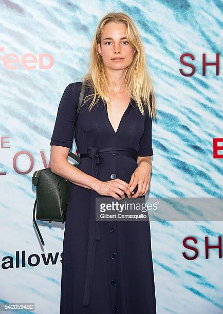 Elise Aarnink attends 'The Shallows' World Premiere at AMC Loews Lincoln Square on June 21 2016 in New York City