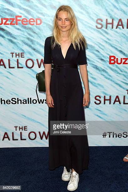 Elise Aarnink attends the world premiere of Columbia Pictures' 'The Shallows' at AMC Lincoln Square Theater on June 21 2016 in New York City