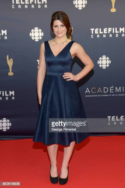 Elise Bauman attends 2017 Canadian Screen Awards at Sony Centre For Performing Arts on March 12 2017 in Toronto Canada
