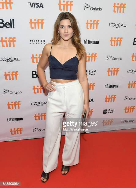 Elise Bauman attends the TIFF Soiree during the 2017 Toronto International Film Festival at TIFF Bell Lightbox on September 6 2017 in Toronto Canada