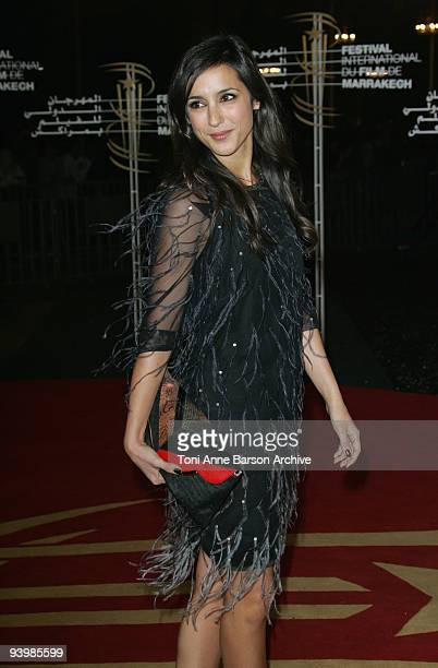 Elise Chassaing attends the John Rabe premiere at the 9th Marrakesh Film Festival at the Palais des Congres on December 4, 2009 in Marrakech, Morocco.