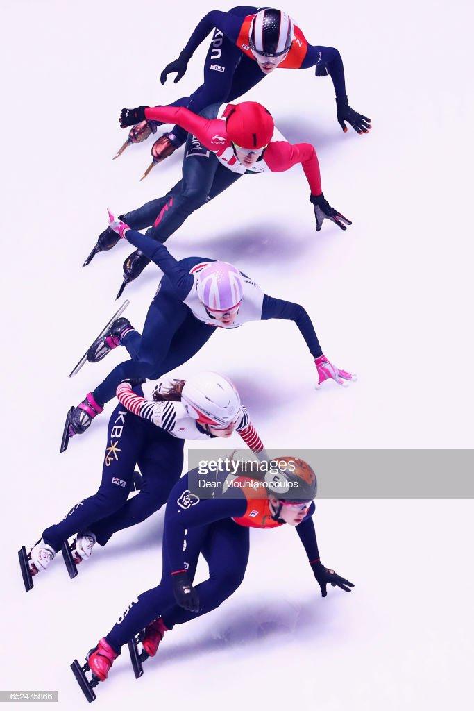 World Short track Speed Skating Championships - Rotterdam Day 2