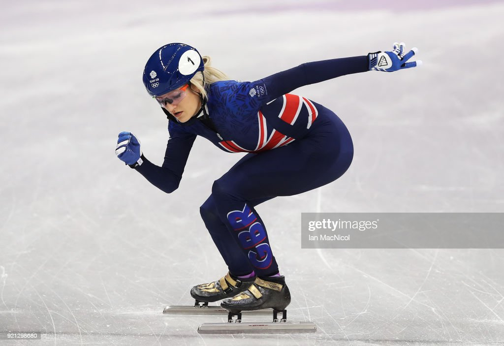 Short Track Speed Skating - Winter Olympics Day 11 : News Photo
