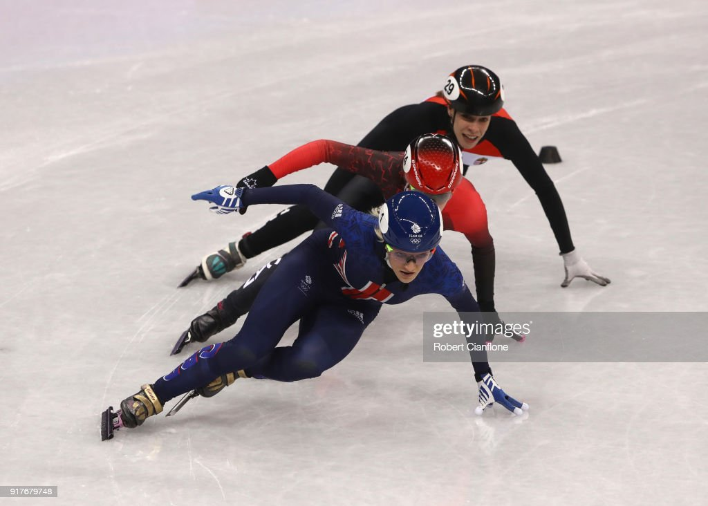 Short Track Speed Skating - Winter Olympics Day 4 : News Photo