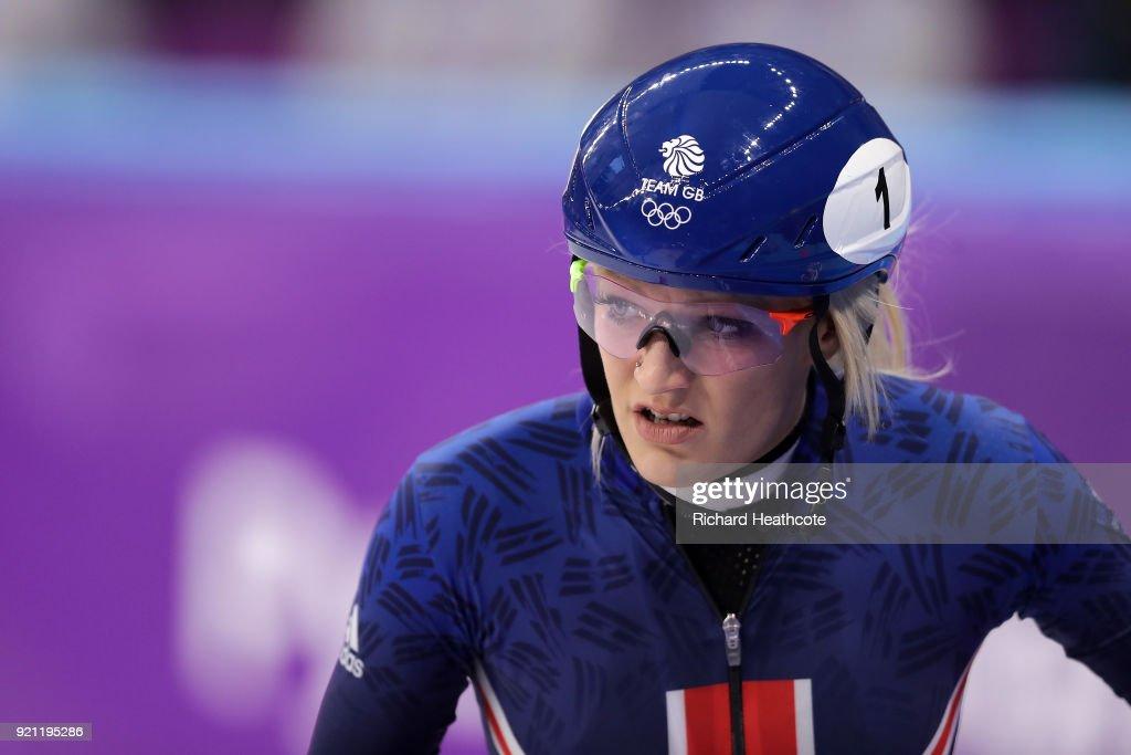 Short Track Speed Skating - Winter Olympics Day 11 : News Photo