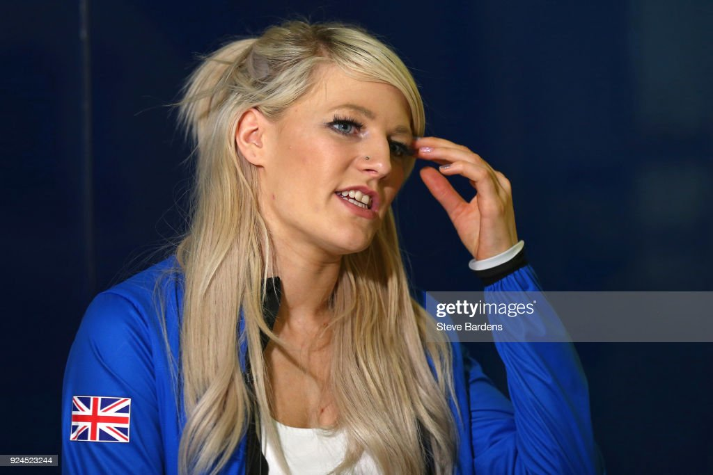 Team GB Homecoming from the Winter Olympics : News Photo