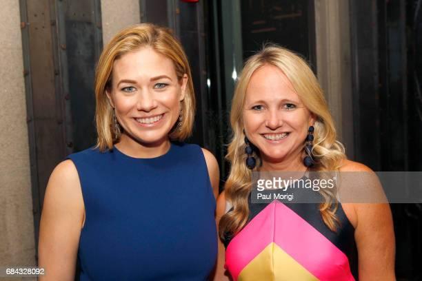 Elise Jordan and Lauren Fritts attends the Washington DC Screening of War Machine at Landmark E Street Cinema on May 17 2017 in Washington DC