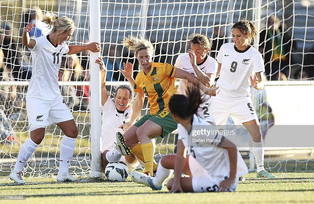 Australia v New Zealand: Game 2