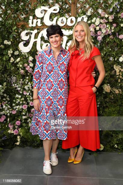 Elise Loehnen and Gwyneth Paltrow at In goop Health London 2019 on June 29, 2019 in London, England.