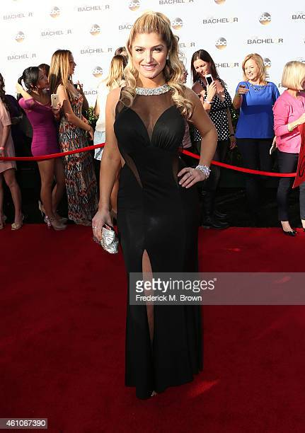 Elise Mosca attends the Premiere of ABC's 'The Bachelor' Season 19 at the Line 204 East Stages on January 5 2015 in Hollywood California