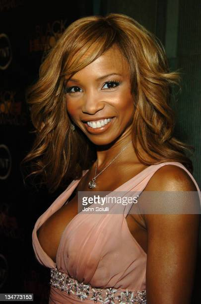 Elise Neal 10224_JSc_06103jpg during 2005 TNT Black Movie Awards Red Carpet at Wiltern in Los Angeles California United States