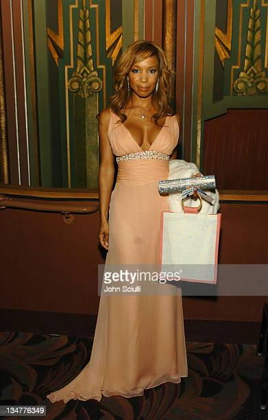 Elise Neal 10245_JSc_01024jpg during 2005 TNT Black Movie Awards Backstage and Audience at Wiltern in Los Angeles California United States