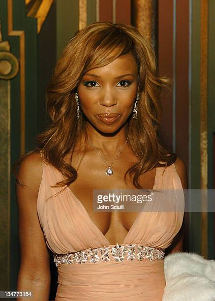 Elise Neal 10245_JSc_01026jpg during 2005 TNT Black Movie Awards Backstage and Audience at Wiltern in Los Angeles California United States