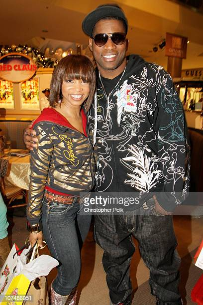 Elise Neal and David Banner at the Ed Hardy Store Opening on December 1 2007 in Los Angeles California