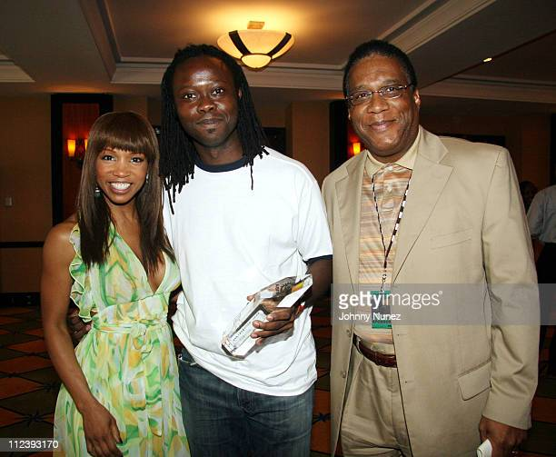 Elise Neal and Paul Buzzby of Walmart during 2006 ABFF Independent Film Awards July 23 2006 at RitzCarlton Hotel in Miami Florida United States