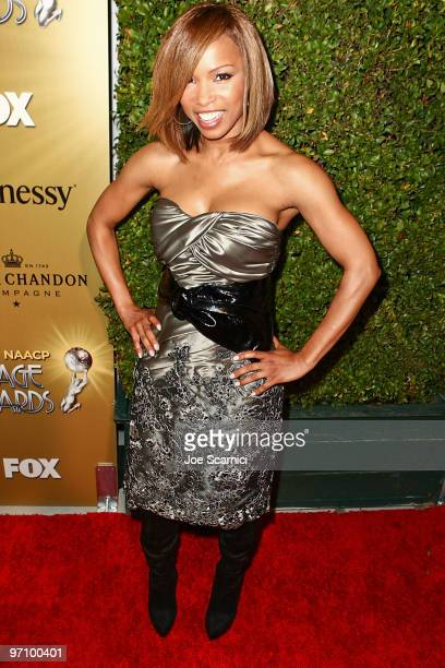 Elise Neal arrives at the 41st NAACP Image Awards Nominees PreShow Gala Reception at Milk Studios on February 25 2010 in Los Angeles California
