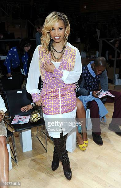 Elise Neal attends Harlem's Fashion Row during MercedesBenz Fashion Week Spring 2014 at Jazz at Lincoln Center on September 6 2013 in New York City