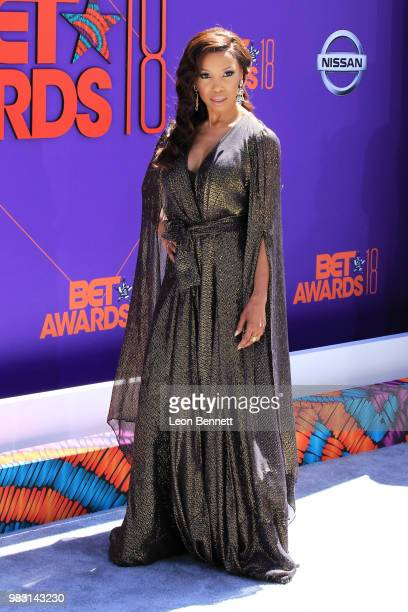 Elise Neal attends the 2018 BET Awards at Microsoft Theater on June 24 2018 in Los Angeles California