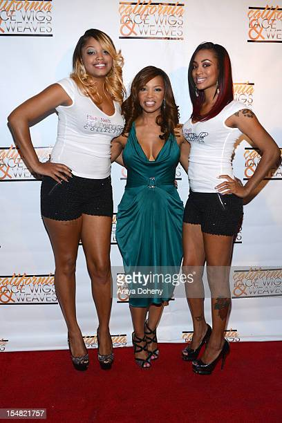 Elise Neal attends the Elise Neal's Hollywood Belle Collection by California Lace Wigs and Weaves hair line launch at Confidential Beverly Hills on...