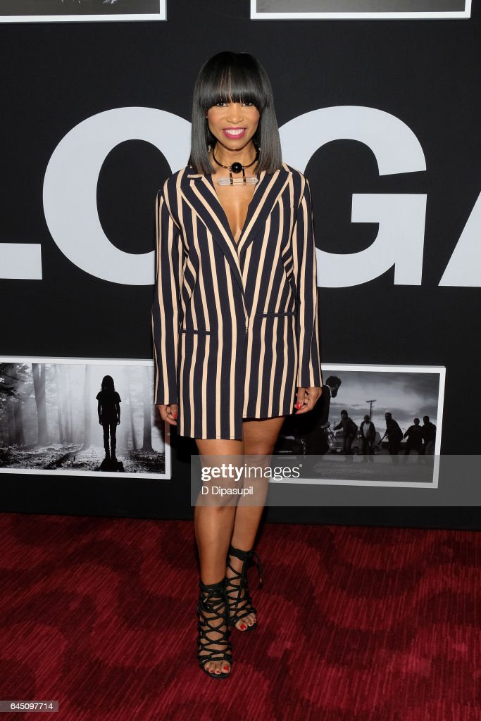 Elise Neal attends the 'Logan' New York screening at Rose Theater, Jazz at Lincoln Center on February 24, 2017 in New York City.
