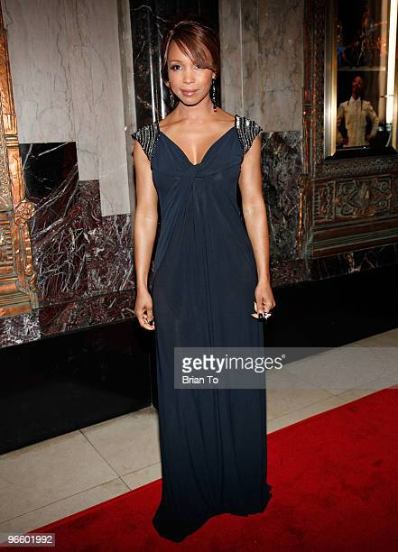 Elise Neal attends the opening night of ''The Color Purple'' at the Pantages Theatre on February 11 2010 in Hollywood California
