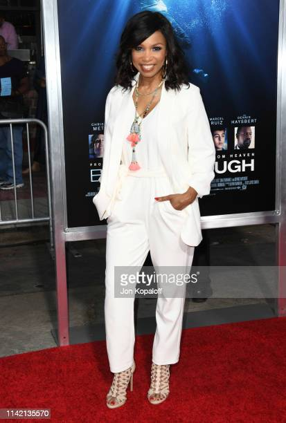 Elise Neal attends the premiere of 20th Century Fox's Breakthrough at Westwood Regency Theater on April 11 2019 in Los Angeles California