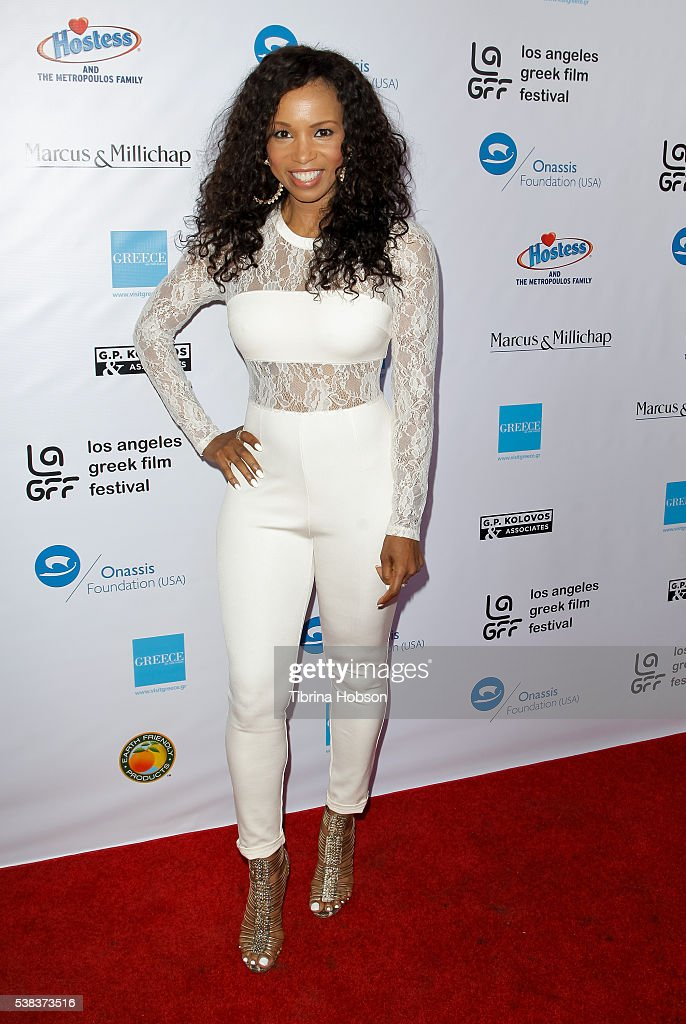 Elise Neal attends the premiere of 'Worlds Apart' at the Egyptian Theatre on June 5, 2016 in Hollywood, California.
