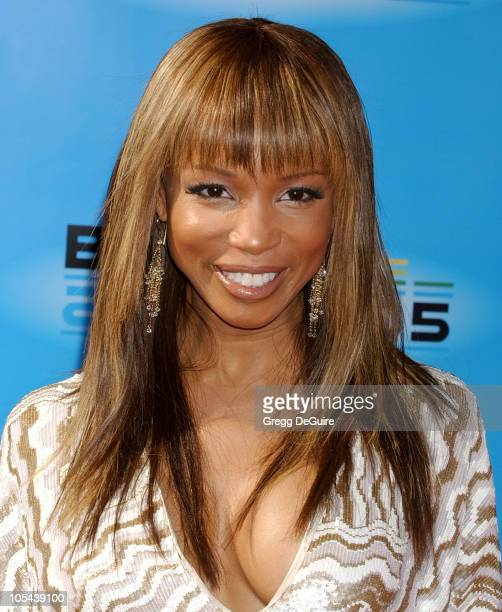 Elise Neal during 2005 BET Awards Arrivals at Kodak Theatre in Hollywood California United States