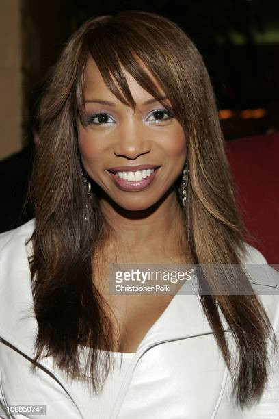 Elise Neal during 2005 Sundance Film Festival 'Hustle and Flow' Dinner Party at Ciceros Resturant in Park City Utah United States