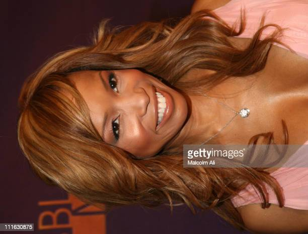 Elise Neal during 2005 TNT Black Movie Awards Arrivals at The Wiltern in Los Angeles California United States