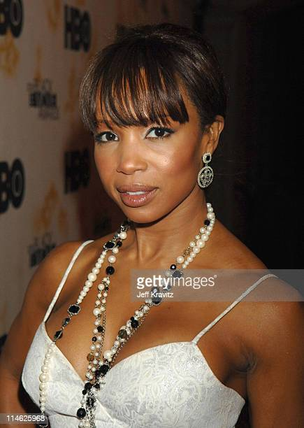 Elise Neal during 2006 TNT Black Movie Awards HBO After Party in Los Angeles California United States