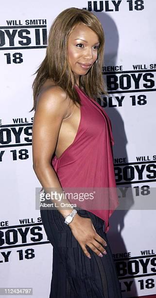 Elise Neal during Bad Boys II Premiere in Westwood California United States