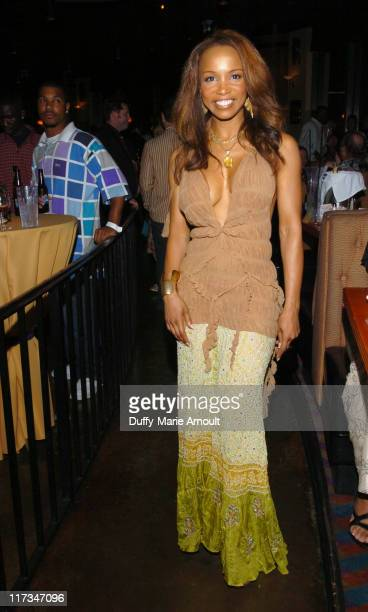 Elise Neal during Hustle Flow Memphis Premiere After Party at Issac Hayes' Nightclub and Restaurant in Memphis Tennessee United States